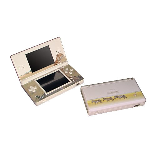 Nintendo DS Lite Safari Deco Piel Cover