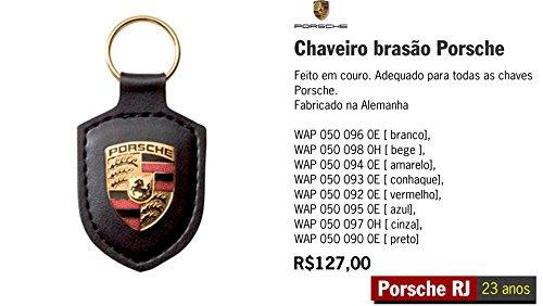 Crest Porsche Key (Porsche WAP-050-090-0E - Z Key Tag Crest Blac)