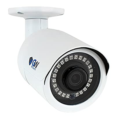 GW Security 5 Megapixel 2592 x 1920 Pixel Super HD 1920P Outdoor Network PoE 1080P Bullet Security IP Camera with 3.6mm Wide Angle Len by GW Security Inc