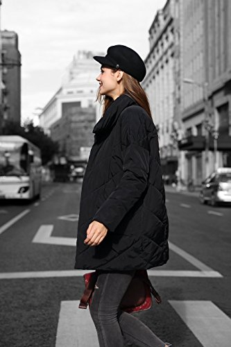 Anorak Water Clearance u Stand Quilted Jacket Collar Resistant Black you Women txw8wZ