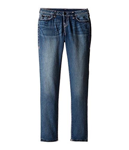 True Religion Kids Girl's Casey Color Combo Super T Jeans in Diamond Wash (Big Kids) Diamond Wash 7