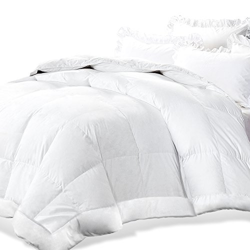 Adoric All-Season White Down Alternative Quilted Comforter with Corner Duvet Tabs, Hotel Quality Duvet Insert King, Machine Washable, Hypoallergenic, Soft & Warm