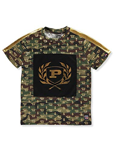 - Phat Farm Big Boys' T-Shirt - Army camo, 18