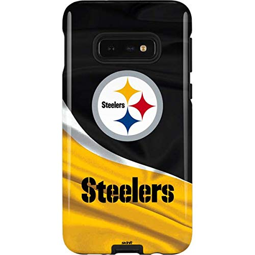 Skinit Pittsburgh Steelers Galaxy S10e Pro Case - Officially Licensed NFL Phone Case Pro, Scratch Resistant Galaxy S10e Cover ()