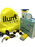 ilum Kids Outdoor Explorer Kit, Unique Kids Educational Gift Set Binoculars, Flashlight, Compass, Whistle, Magnifying Glass, Bug Collector, Tweezers, String Bag. Fun Adventure Exploration
