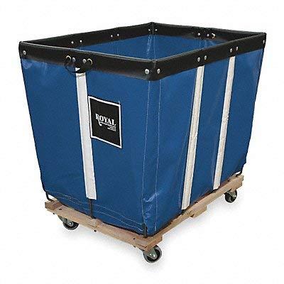 - Basket Truck, 6 Bu. Cap., Blue, 30 In. L