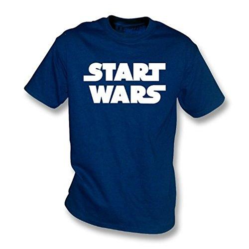 TshirtGrill Stellen Sie Kriegs-T-Shirt an, Farbe- Marine