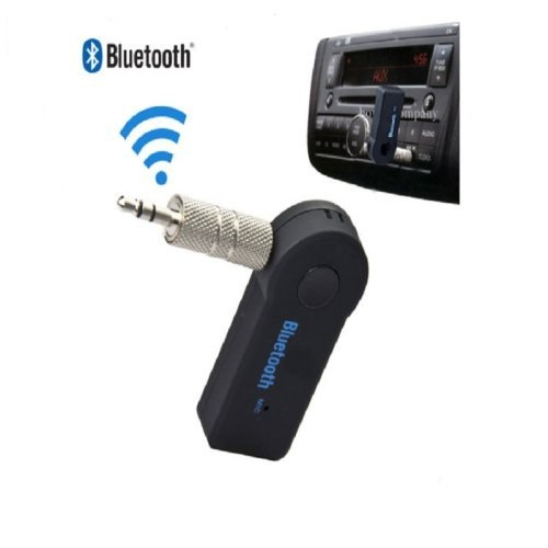 Ouku Wireless Bluetooth 3.5mm AUX Audio Stereo Music Home Car Receiver Adapter W/ Mic