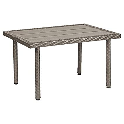 Strange Ecr4Kids Petite Patio Preschool Table All Weather Plastic Wicker Kids Outdoor Furniture 21In High Dailytribune Chair Design For Home Dailytribuneorg