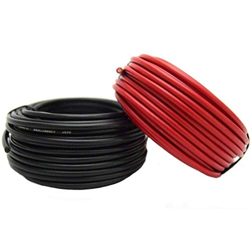 Audiopipe 14 GAUGE WIRE RED & BLACK POWER GROUND 50 FT EACH PRIMARY STRANDED COPPER CLAD by Best Connections