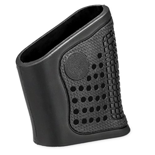GVN Tactical Rubber / Silicone Grip Glove Sleeve ,Pistol / Gun Grip For S&W or M&P Shield, Ruger SR22, Walther PPS, Taurus PT740, PT709 (Parts Taurus Gun)