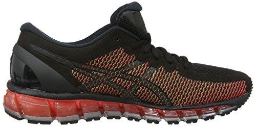 Asics Gel-Quantum 360, Zapatillas de Running para Hombre Negro (black/white/green Gecko)