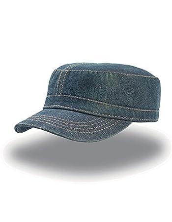 UNIFORM DENIM Berretto ARMY Cappello MILITARE CAP CHAPEAUX 100% COTONE  UNISEX  Amazon.it  Sport e tempo libero 7ba7c3b53f58