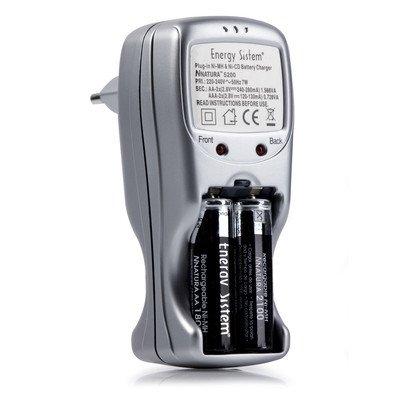 Energy Sistem ® NNaturaTM 5600-Cargador de pilas recargables ...