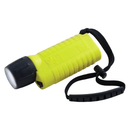 Underwater Kinetics SL4 eLED L1 Dive Light - Safety Yellow, with wrist strap