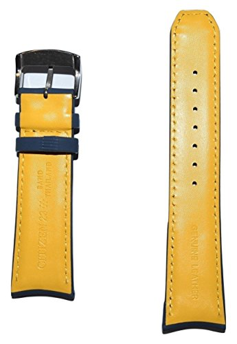 Original Citizen Blue Angels 23mm Blue Leather Band Strap For Watch Model: AT8020-03L