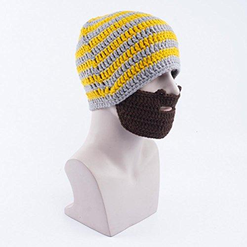 De Punto Romanos Invierno De Hombres De Gorros Sombreros Yellow Sombreros Barba Sombreros De Unisex De Sombreros Otoño 8vHwHpq
