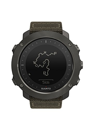 Suunto Traverse Alpha Foliage Green - GPS Outdoor Watch by Suunto