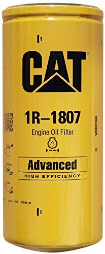 Caterpillar 1R-1807 Advanced High Efficiency Oil Filter (Pack of 2)