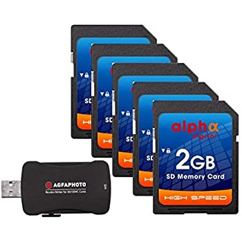 Amazon.com: Alpha Digital 5 x tarjeta de memoria para Nikon ...