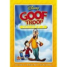 Disney's Goof Troop: Volume 2, 3-disc Set, 27 Episodes, Disney Exclusive