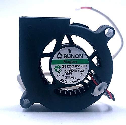 lamp fan Brand New Sunon 50mm blower GB1205PKV1-8AY 5020 50X20 mm 5CM Projector Blower Fan 12V 1.4W alarm RD signal