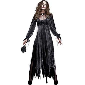 Amazon.com: Disfraz de Halloween para mujer con diseño de ...