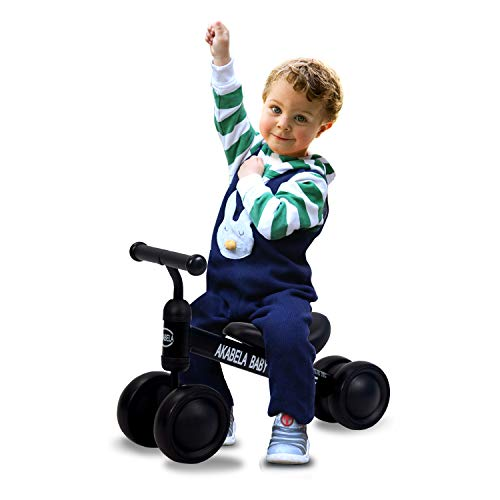 TALLER! Perfect Height for US Babies. Baby Balance Bikes Bicycle Baby Bike Toys Gifts for 1 2 3 Year Old Boys Girls No Pedal Infant Baby's First Bike First Birthday New Year Gift 1 2 3 Year Old Toys