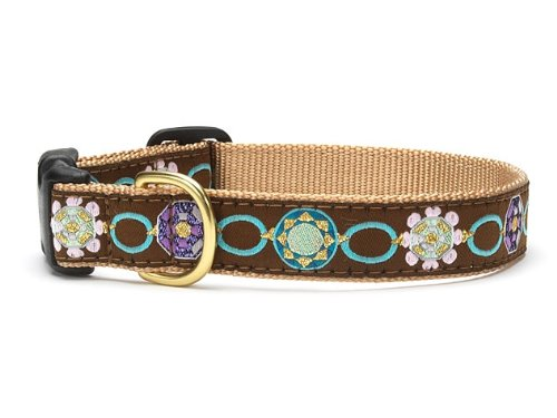 Up Country Sparkle Dog Collar with Quick Release Buckle - X-Large (18-24 Inches) - 1 in Width
