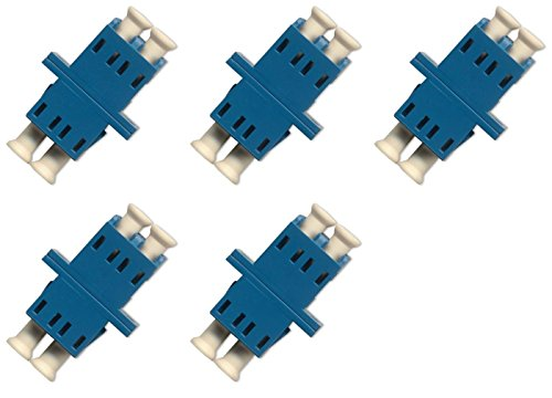 Dx Fiber Optic Cable (Fiber Optic Cable Adapter/coupler LC-LC Duplex Singlemode 5)