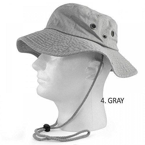 Cabo Casting Reel (Gray_(US Seller)Fishing Military Hunting Safari Hat Cap Outdoor)
