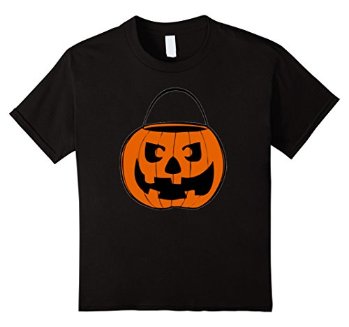 Cult Costume Ideas (Kids JACK O' LANTERN PUMPKIN Face Halloween Costume Spooky Shirts 10 Black)
