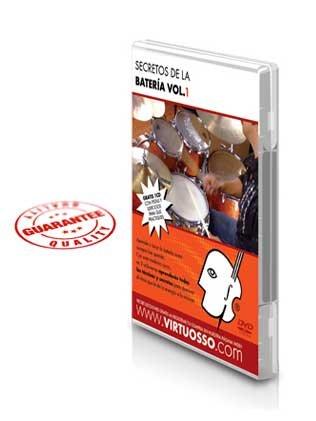 Virtuosso Drum Method Vol.1 (Curso De Batería Vol.1) SPANISH ONLY by Virtuosso