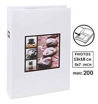 Stellar Fotoalbum in Türkis für 200 Fotos in 10x15 cm Einsteck Foto Album