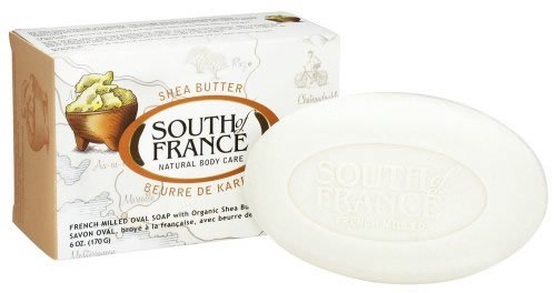 South of France Shea Butter Bar Soap 6 Ounce (Pack of 8 bars)