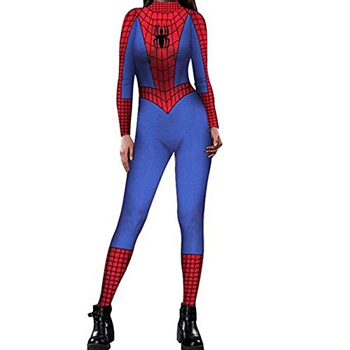 Tsyllyp Spiderman Universe Hero Homecoming Costume Womens One Piece -