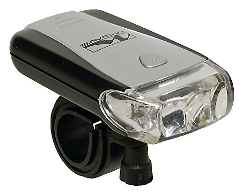 M-Wave LED Bicycle Flashlight (Headlight Led Mwave 3)