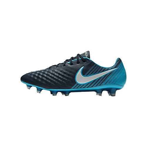 Nike Magista Opus II FG - 843813414 - Color Black-Turquoise - Size: 7.0