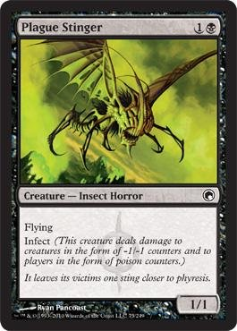 Magic: the Gathering - Plague Stinger - Scars of Mirrodin