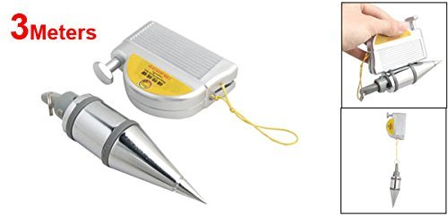 DealMux Magnetic Plumb Bob Setter Leveling Apeak Line Test Device, 3m