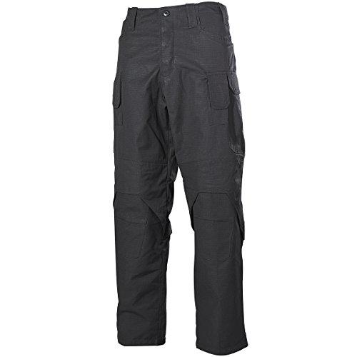 MFH Hommes Mission Combat Pantalon Ripstop Noir taille S