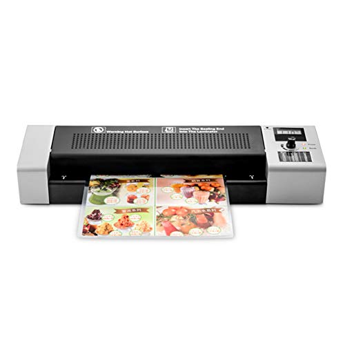 MiSide Thermal Laminator Machine,Suitable for MAX A3 Paper,(with 20 PCS A4 Laminating),ML350-A3