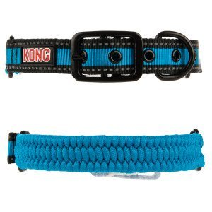 KONG Paracord Reflective Dog Collar