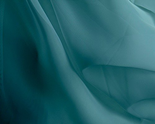 Event Decor Direct FR 10FT Wide X 12FT Long Sheer Voile Curtain Panel W/ 4