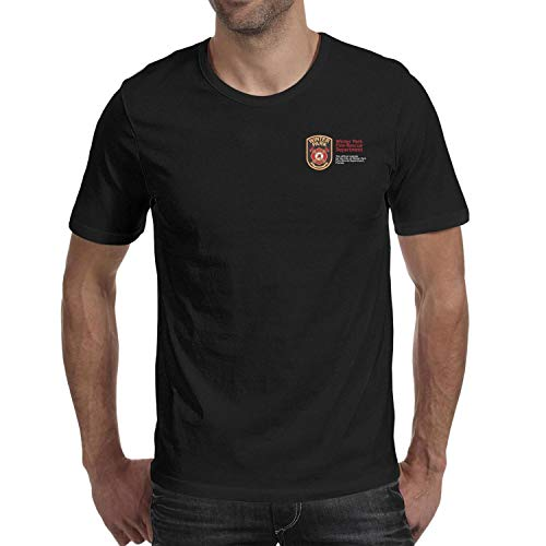 DXQIANG Winter Park Fire-Rescue Department Design Mens Cool T Shirts Comfort Soft Tee Tops