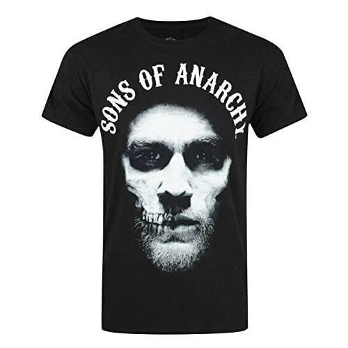 1b3da90b8be17 well-wreapped Sons Of Anarchy Hombres Camiseta - www.inlog.com.br