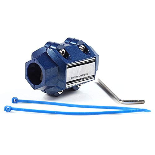 Magnetic Gas Oil fuel fuelsaver saver Performance Trucks Cars Blue New Fuel Saver Car Economizer ()