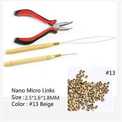 Kit de 3 herramientas para extensiones de pelo, alicates de 1 ...