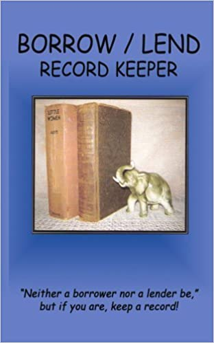 Book Borrow / Lend Record Keeper by Flo Balliet (2008-08-07)