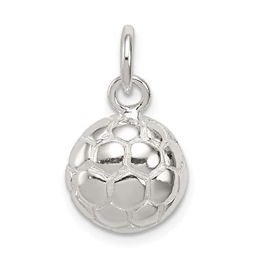 Sterling Silver Soccer Ball...